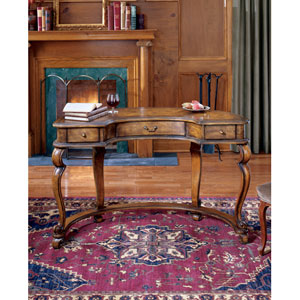 Heritage Crescent-Shape Writing Desk