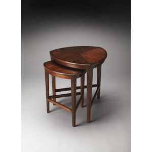 Finnegan Antique Cherry Nesting Tables