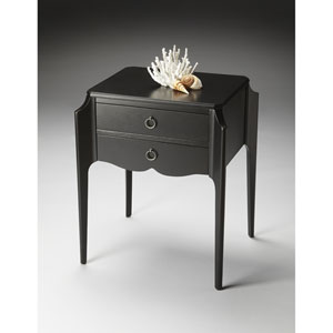 Butler Loft Black Licorice Accent Table