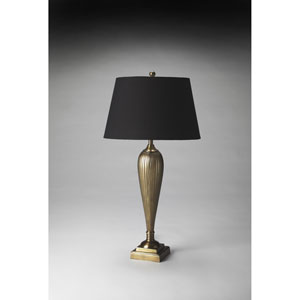 Antique Brass Finish Table Lamp
