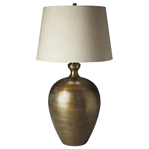Jayson Antique Brass Table Lamp