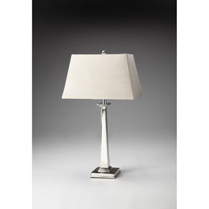 Nickel Finish Table Lamp