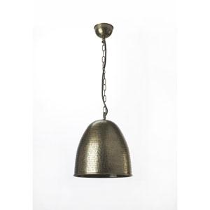 Nickel One Light Pendant