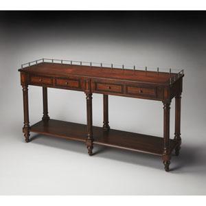 Charleston Plantation Cherry Sofa/Console Table