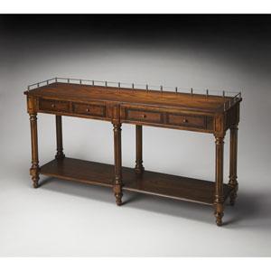 Charleston Umber Sofa/Console Table