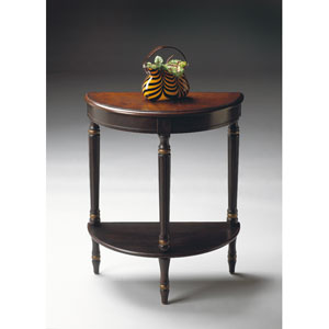 Artists Originals Cafe Noir Demilune Console Table