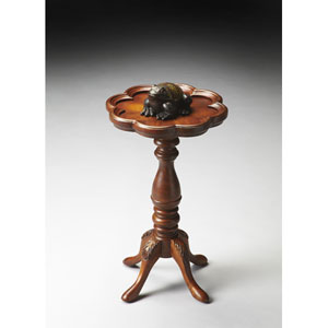Masterpiece Olive Ash Burl Scatter Table