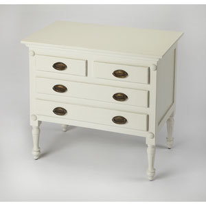 Easterbrook White Drawer Chest
