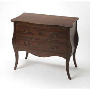 Rochelle Antique Walnut Drawer Chest