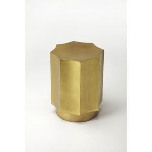 Daud Gold Side Table