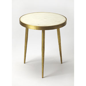 Triton White Marble Bunching Table