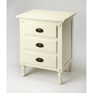 Butler Easterbrook White Nightstand
