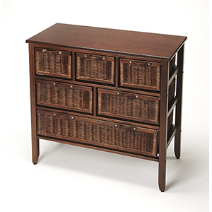 Butler Falmouth Rattan Console Chest