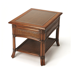 Butler Arihi Rattan End Table