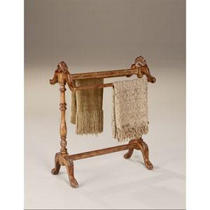 Masterpiece Vintage Oak Blanket Stand
