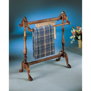 Plantation Cherry Light Distress Blanket Stand