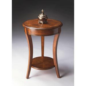 Masterpiece Olive Ash Burl Accent Table
