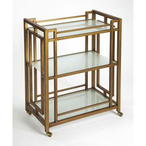 Linden Gold Bar Cart