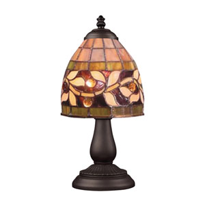 Mix and Match Tiffany Bronze Table Lamp - Vine