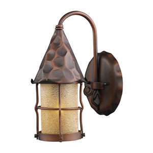 Rustica Antique Copper One-Light Wall Sconce