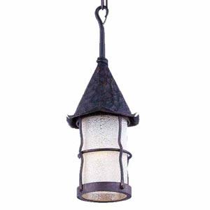 Rustica Antique Copper Outdoor Hanging Lantern
