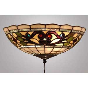 Tiffany Tan Fan Light Kit or Ceiling Light