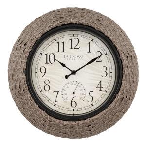 Natural Outdoor Wall Clock