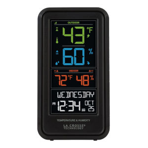 Black Personal Weather Station
