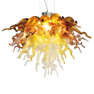 Canyon Shadow Coffee and Copper Three-Light LED Chandelier