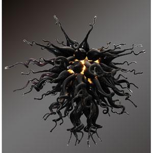 Modern Classics Obsidian Large Chandelier