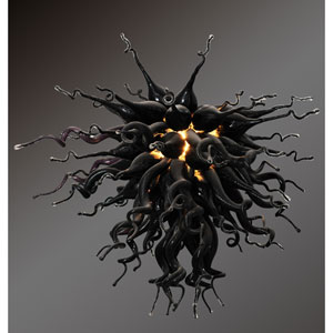 Modern Classics Obsidian Small Chandelier