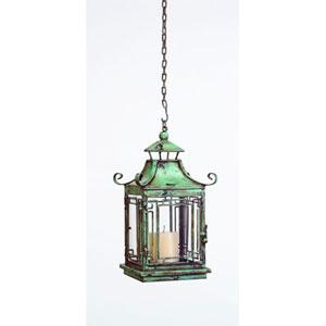 Seafoam Green Pagoda Style Lantern