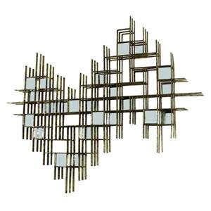 Italian Gold Geometric Design Wall Decor