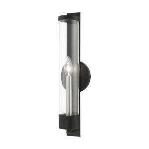 Castleton Black One-Light ADA Wall Sconce