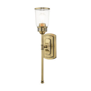 Lawrenceville Antique Brass One-Light Wall Sconce
