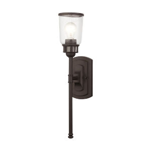 Lawrenceville Bronze One-Light Wall Sconce