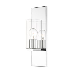 Zurich Polished Chrome One-Light Wall Sconce