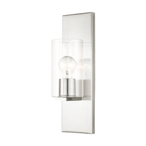 Zurich Brushed Nickel One-Light Wall Sconce