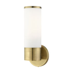 Lindale Antique Brass One-Light ADA Wall Sconce