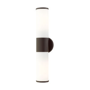 Lindale Bronze Two-Light ADA Wall Sconce