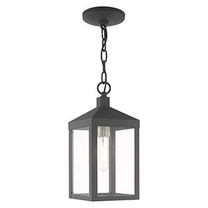 Nyack Gray Pendant Lantern