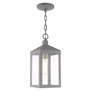 Nyack Nordic Gray Pendant Lantern
