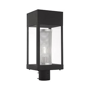 Franklin Black Post Top Lantern