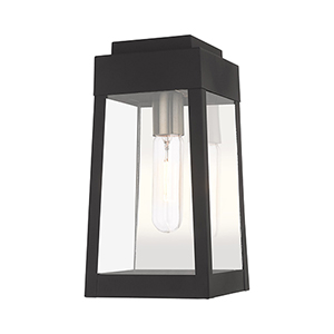 Oslo Black 6-Inch One-Light Wall Lantern