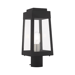 Oslo Black 6-Inch One-Light Post Top Lantern