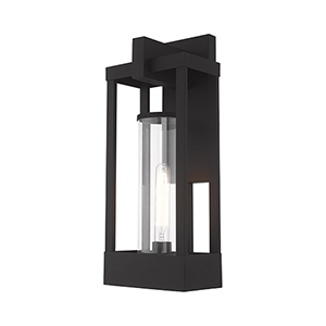Delancey Black 20-Inch One-Light Outdoor Wall Lantern