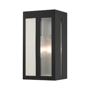 Lafayette Black Five-Inch One-Light Outdoor ADA Wall Sconce