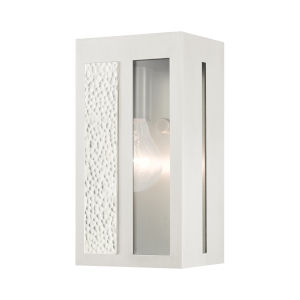 Lafayette Brushed Nickel Five-Inch One-Light Outdoor ADA Wall Sconce