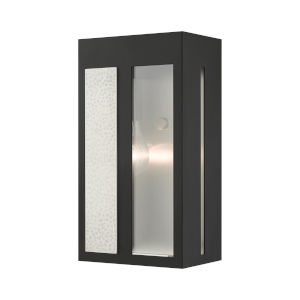 Lafayette Black Six-Inch One-Light Outdoor ADA Wall Sconce