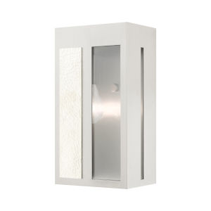 Lafayette Brushed Nickel Six-Inch One-Light Outdoor ADA Wall Sconce